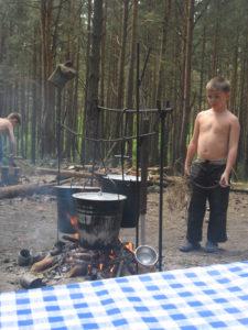 Палаточный лагерь Пилигрим.